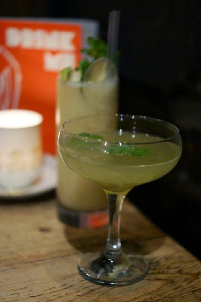 Hello Freckles Edinburgh Blackbird Cocktails Food Travel Review City Break Christmas
