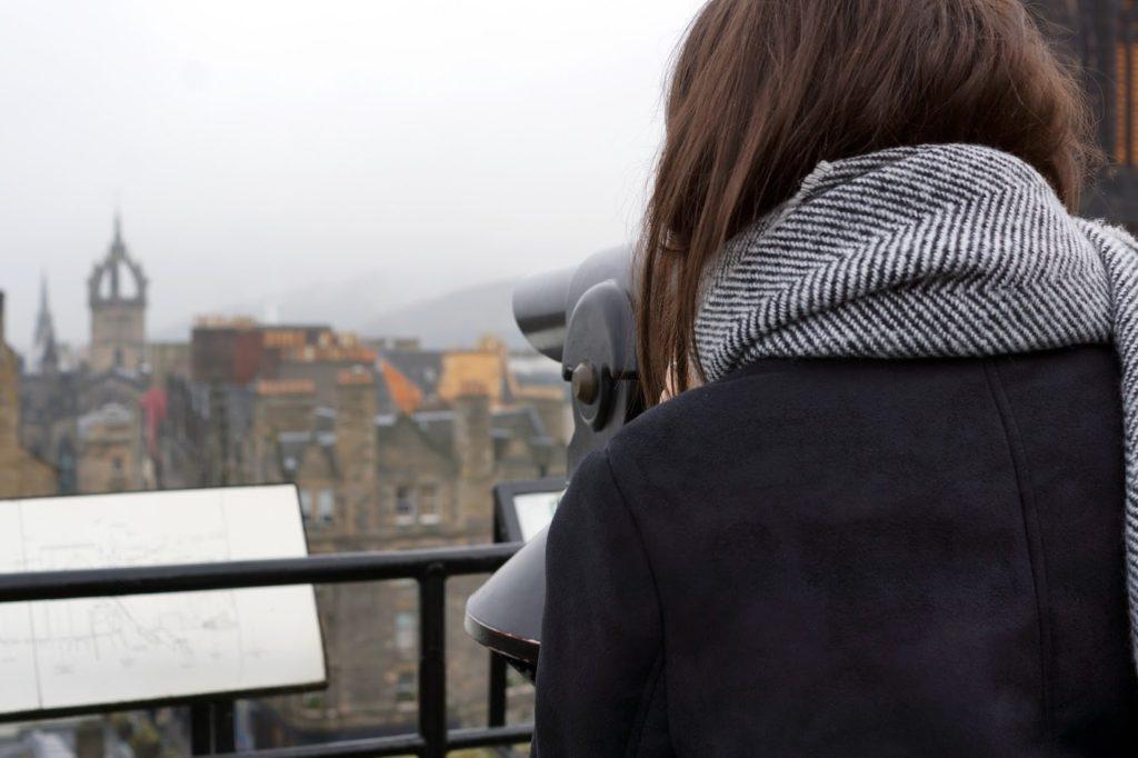 Hello Freckles Edinburgh Street of Light Travel Review City Break Christmas