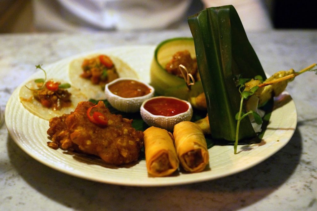 Hello Freckles Chaophraya Newcastle Food Review Thai Maeklong Platter nebloggers