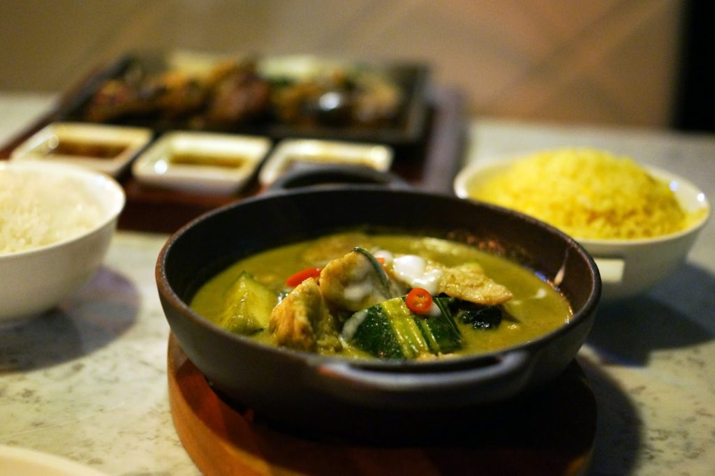 Hello Freckles Chaophraya Newcastle Restaurant Review Food Bloggers Green Chicken Curry
