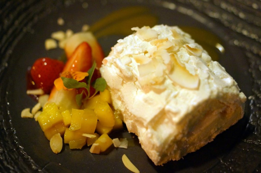 Hello Freckles Chaophraya Thai Restaurant Review Mango Meringue Dessert Nebloggers Food Bloggers