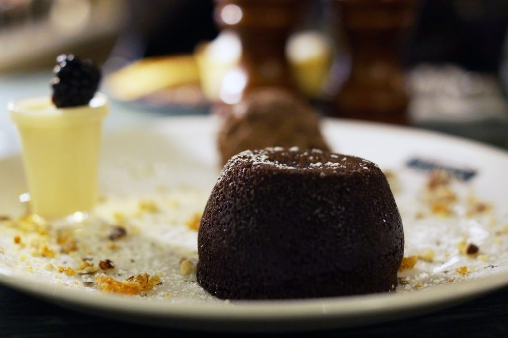 Hello Freckles Browns Brasserie Restaurant Newcastle Food Review chocolate dessert nebloggers