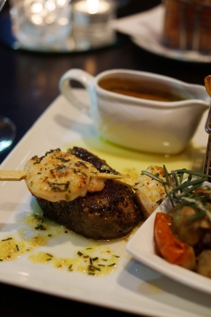 Hello Freckles Hilton Newcastle Gateshead Hotel Review Nebloggers Windows On The Tyne Meal Food Review Fillet Steak