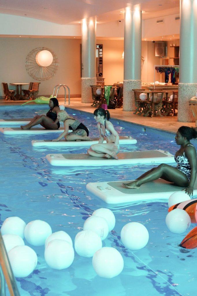 Hello Freckles Fitness Lifestyle Bikini Swimwear365 Aquafit London Haymarket Review