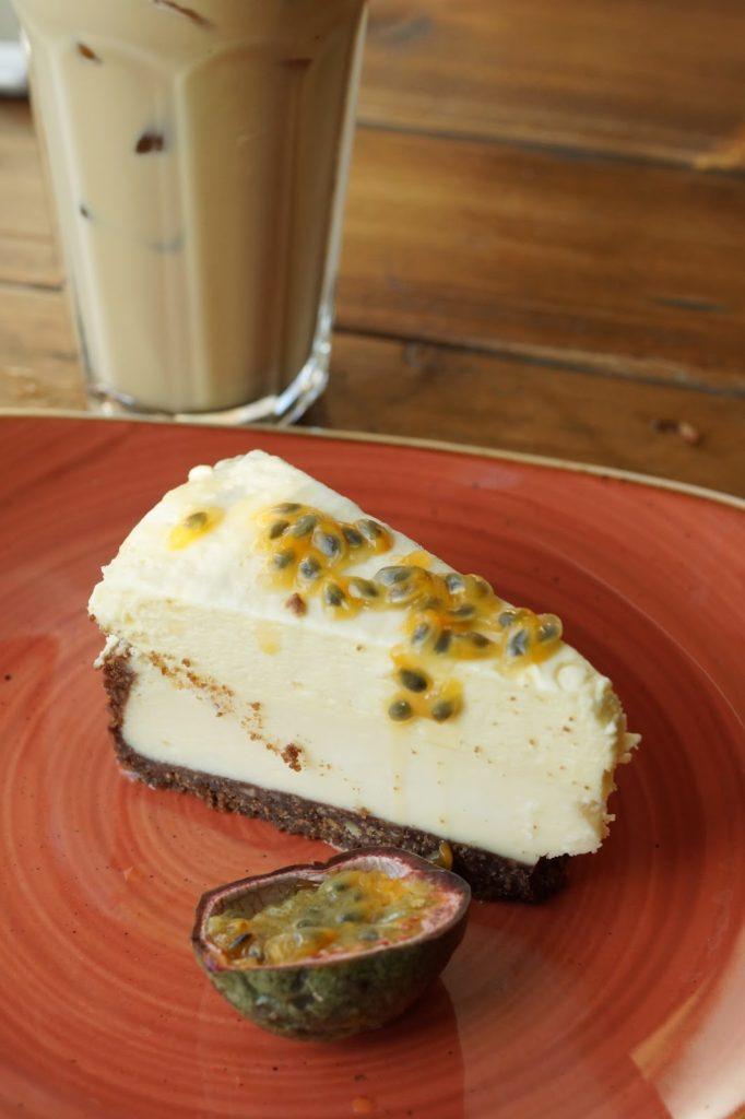 Hello Freckles Giraffe World Kitchen Newcastle Food Restaurant Review Eldon Square Dessert Cheesecake