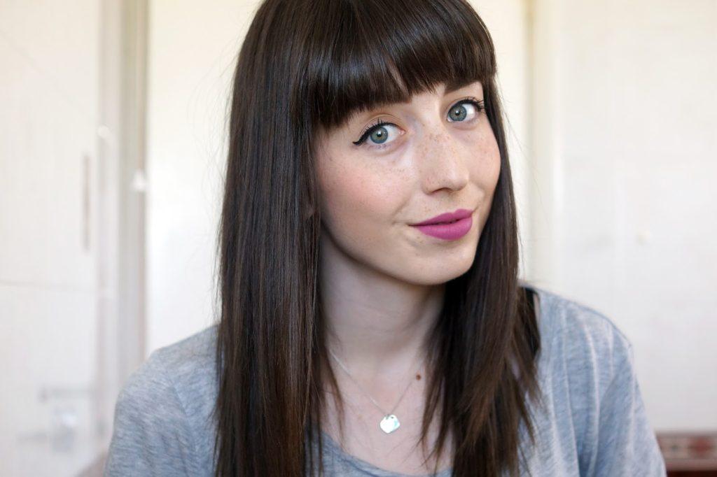 Hello Freckles Kat Von D Beauty Lovesick Everlasting Liquid Lipstick Review Swatch Makeup