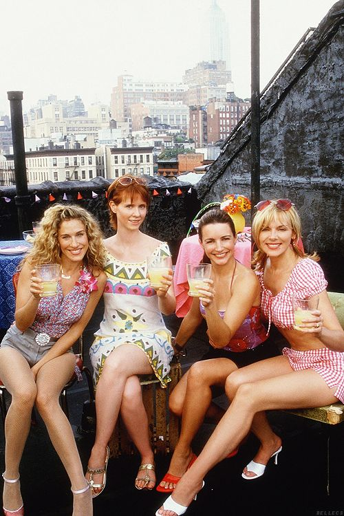 Hello Freckles Sex And The City What I've Learned TV Series Lifestyle