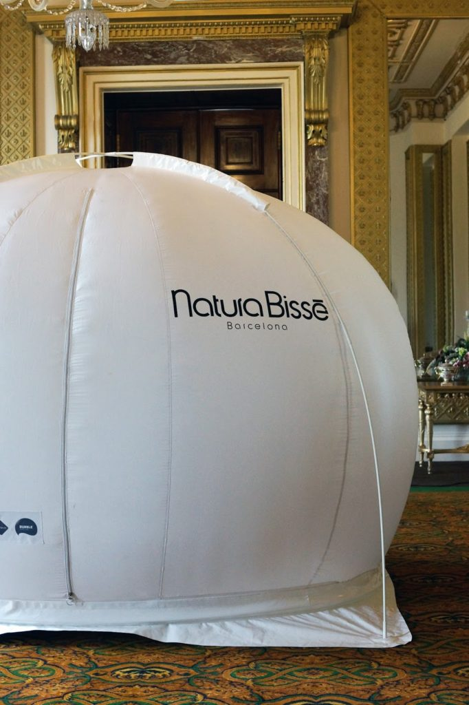 Wynyard Hall Facial Natura Bisse Bubble Oxygen Spa Treatment Pamper North East Review Hello Freckles