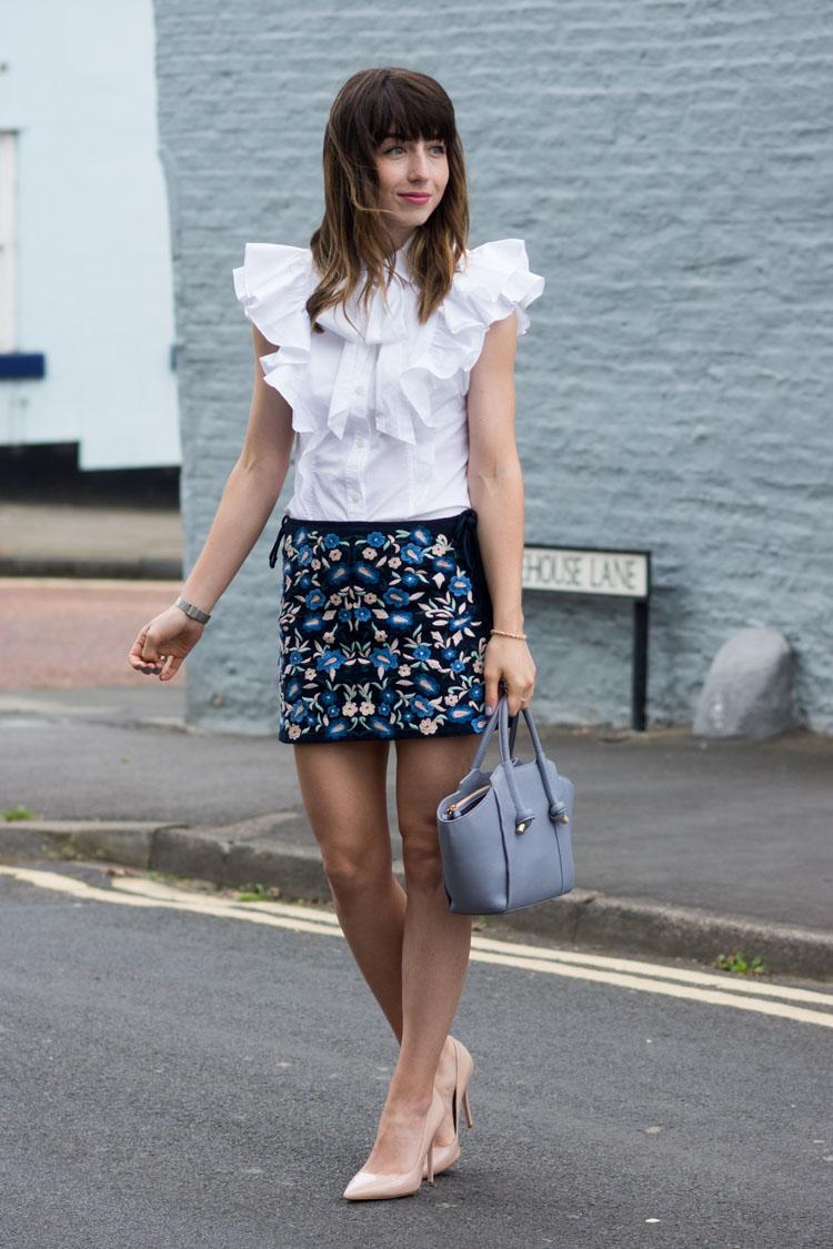 Hello Freckles Karen Millen Street Style Positive Thinking