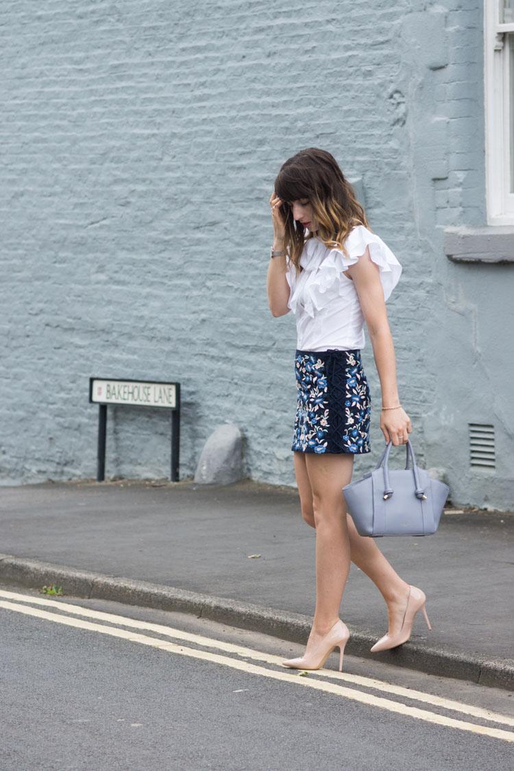 Hello Freckles Karen Millen Street Style Positive Thinking Zara Radley