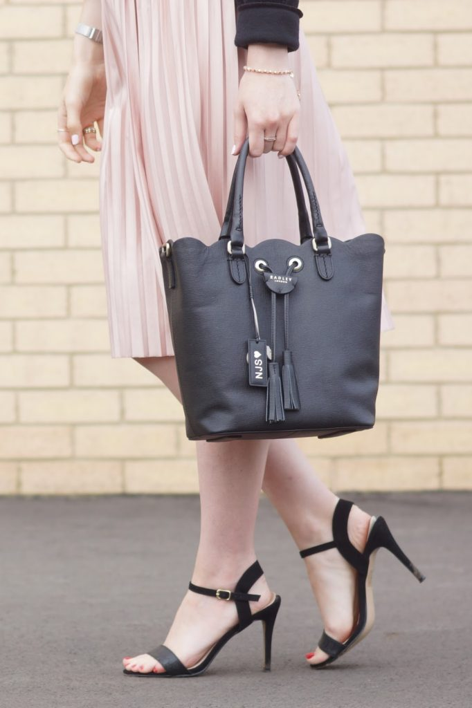 Hello Freckles Radley Personalisation Southern Row Scallop Tote Bag Dalton Park Street Style