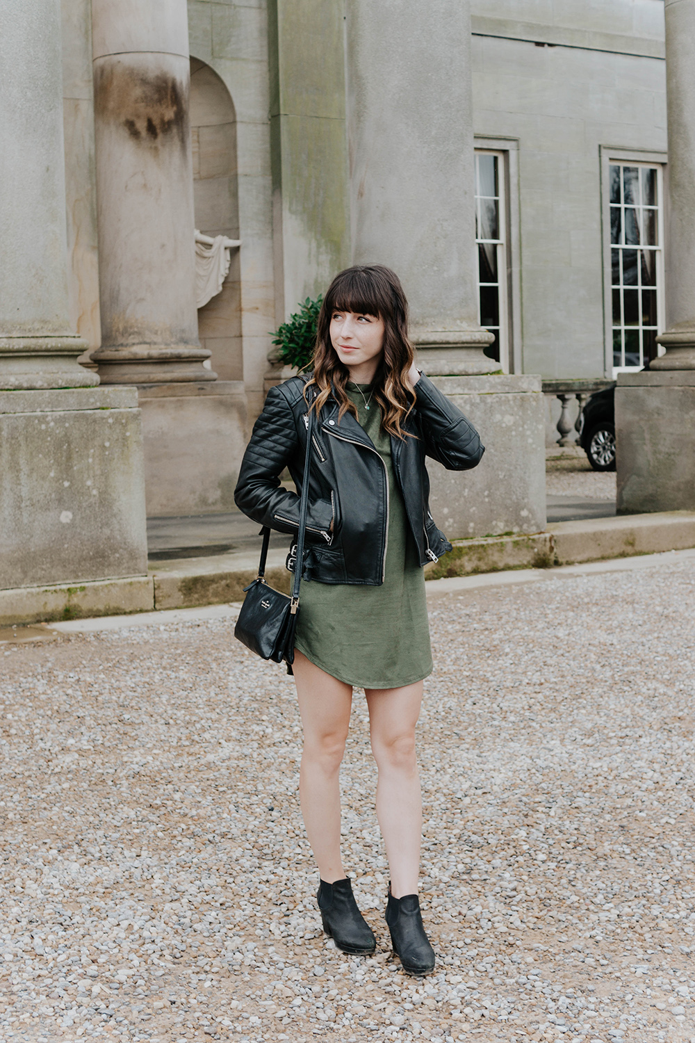 Hello Freckles Wynyard Hall Sunday Lunch North East Street Style Fashion AllSaints Tobi
