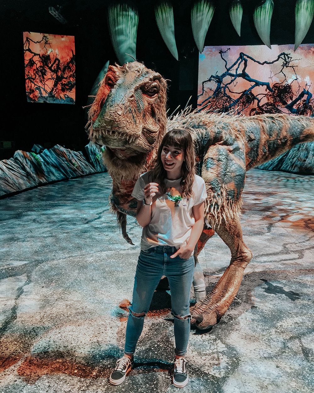 Walking With Dinosaurs Baby T Rex UK Tour