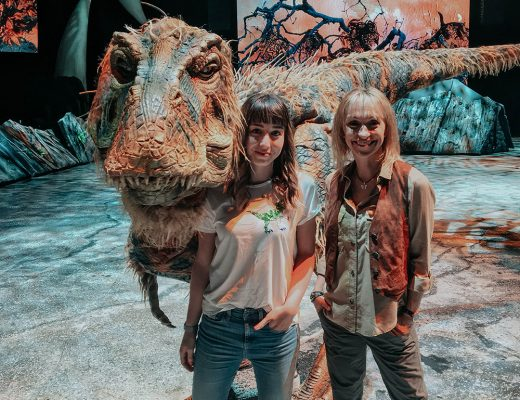 Walking With Dinosaurs Baby T Rex UK Tour Michaela Strachan