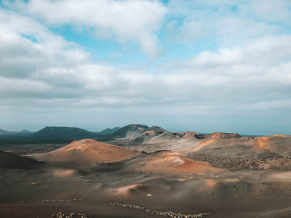 Lanzarote Canary Islands Timanfaya National Park Hello Freckles Winter Sun Jet2 Jet2Holidays