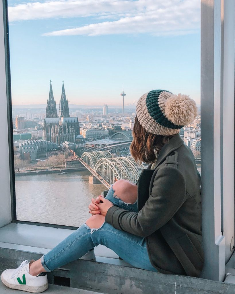Hello Freckles Cologne Koeln Koln Germany City Break New Year Winter Holiday