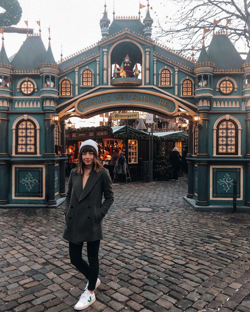 Hello Freckles Cologne Koeln Koln Germany City Break New Year Winter Holiday Christmas Market