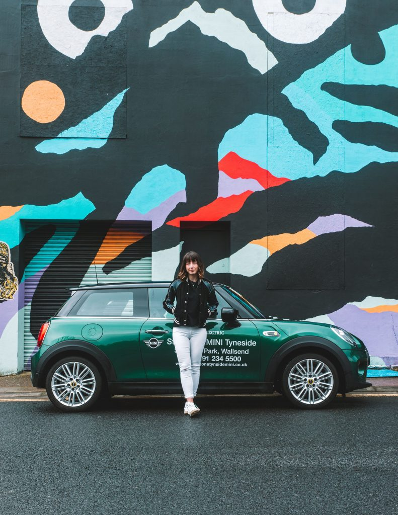 MINI Electric extended test drive Ouseburn Newcastle