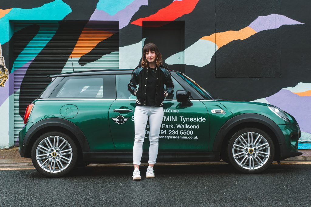 MINI Electric extended test drive Ouseburn Newcastle Hello Freckles Stratstone Tyneside