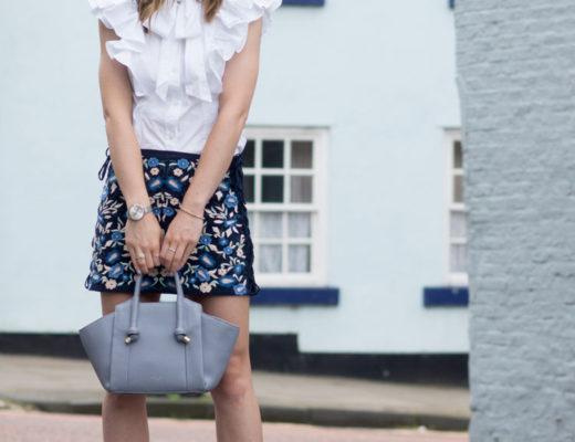 Hello Freckles Karen Millen Zara Radley Positive Thinking Street Style