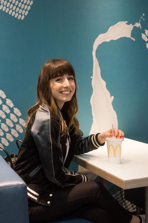 Hello Freckles McDonalds Behind The Scenes Food