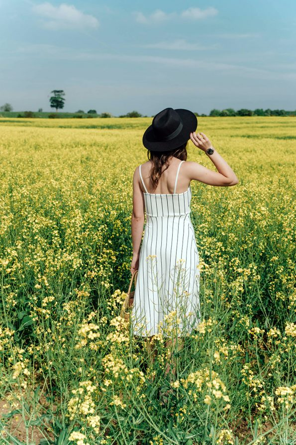 Hello Freckles Yellow Summer Field Personal Style