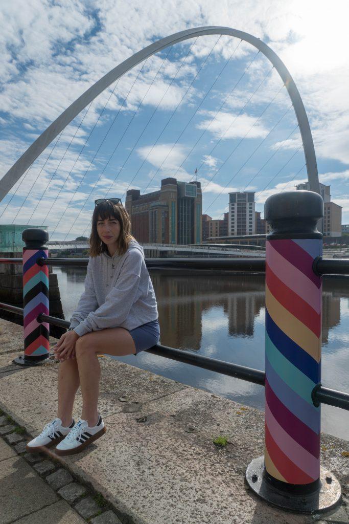 Hello Freckles Newcastle Quayside Adidas Activewear Sambarose