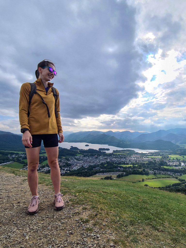 Hello Freckles Adidas Terrex every hike fleece Lake District